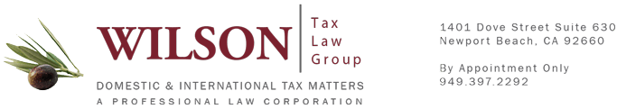 Newport Beach Tax Attorney, Orange County/Irvine | Wilson Tax Law